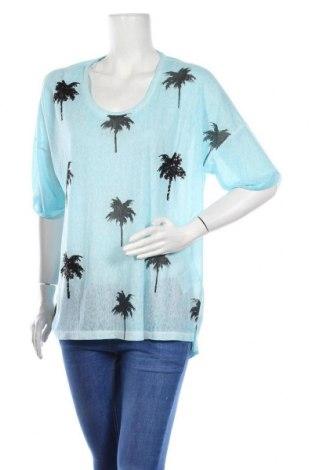 Γυναικεία μπλούζα Via Appia, Μέγεθος XL, Χρώμα Μπλέ, 65% πολυεστέρας, 35% βισκόζη, Τιμή 32,17€