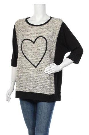 Γυναικεία μπλούζα Via Appia, Μέγεθος XL, Χρώμα Πολύχρωμο, 90% βισκόζη, 10% ελαστάνη, Τιμή 32,58€