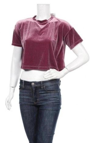 Дамска блуза Weekday, Размер XS, Цвят Лилав, 94% полиестер, 6% еластан, Цена 15,12лв.