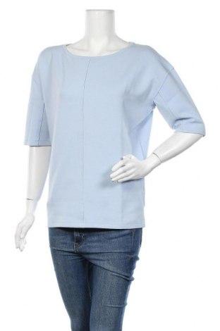 Дамска блуза Yaya, Размер S, Цвят Син, 71% памук, 20% полиестер, 9% еластан, Цена 24,08лв.