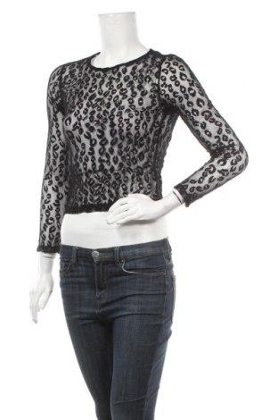 Γυναικεία μπλούζα Zebra, Μέγεθος S, Χρώμα Μαύρο, 95% πολυεστέρας, 5% ελαστάνη, Τιμή 8,18€