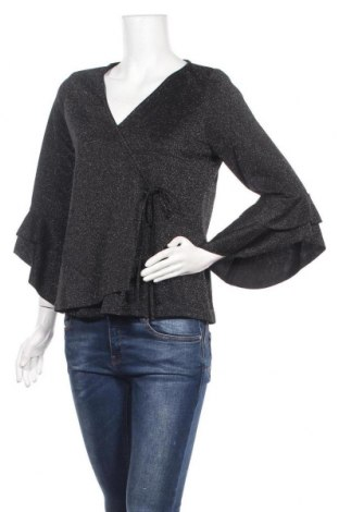 Дамска блуза Zibi London, Размер L, Цвят Черен, Полиестер, Цена 14,75лв.