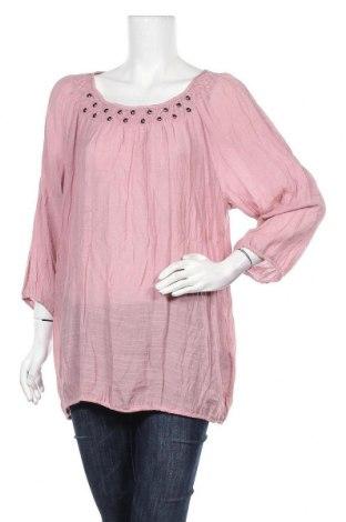 Γυναικεία μπλούζα Zizzi, Μέγεθος L, Χρώμα Ρόζ , 68% βισκόζη, 32% πολυεστέρας, Τιμή 5,26€