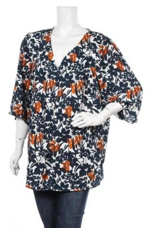 Γυναικεία μπλούζα Zizzi, Μέγεθος XXL, Χρώμα Πολύχρωμο, Πολυεστέρας, Τιμή 10,52€