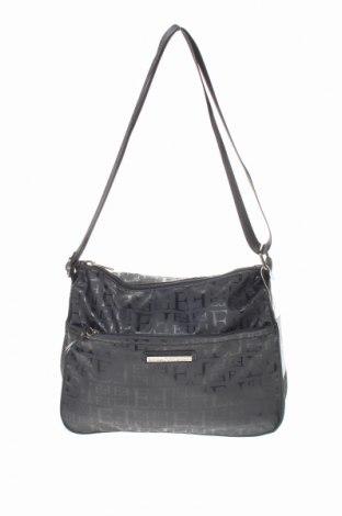 Γυναικεία τσάντα Egon Von Furstenberg, Χρώμα Μαύρο, Πολυουρεθάνης, Τιμή 35,24€