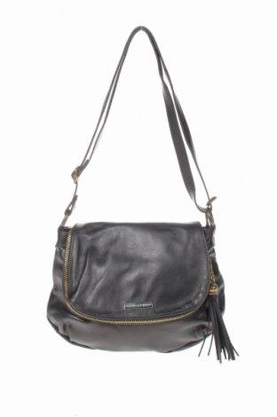 Дамска чанта Isabella Rhea, Цвят Черен, Естествена кожа, Цена 140,22лв.