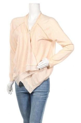 Дамска жилетка Betty & Co, Размер M, Цвят Бежов, 55% памук, 45% акрил, Цена 12,56лв.