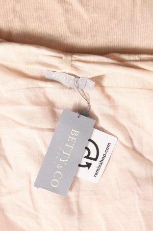 Дамска жилетка Betty & Co, Размер L, Цвят Бежов, 55% памук, 45% акрил, Цена 25,28лв.