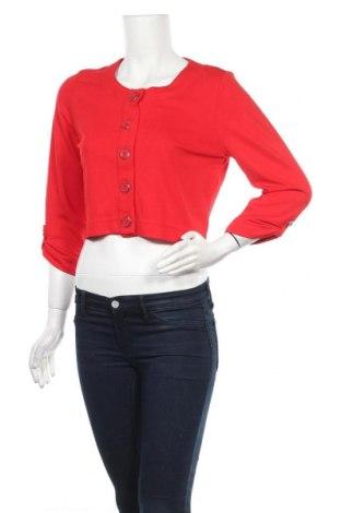Дамска жилетка Betty Barclay, Размер M, Цвят Червен, 68% вискоза, 28% полиестер, 4% еластан, Цена 14,06лв.