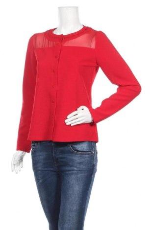 Дамска жилетка Bleu Blanc Rouge, Размер M, Цвят Червен, 96% полиестер, 4% еластан, Цена 22,25лв.