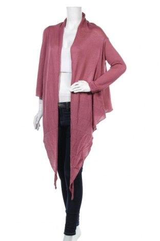 Дамска жилетка Grace, Размер M, Цвят Розов, 50% памук, 50% вискоза, Цена 22,80лв.