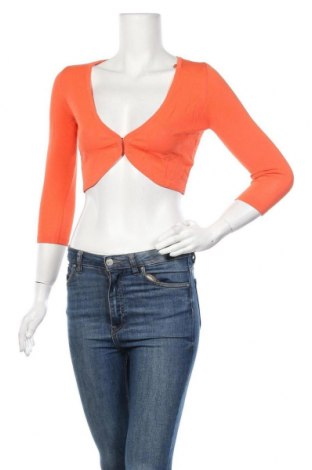 Дамска жилетка Jake*s, Размер XS, Цвят Оранжев, 68% вискоза, 32% полиамид, Цена 16,72лв.