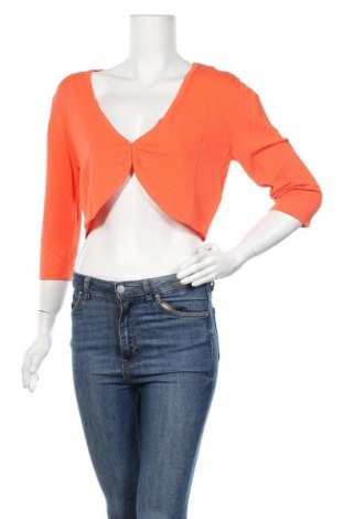 Дамска жилетка Jake*s, Размер XL, Цвят Оранжев, 68% вискоза, 32% полиамид, Цена 16,72лв.