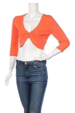 Дамска жилетка Jake*s, Размер L, Цвят Оранжев, 68% вискоза, 32% полиамид, Цена 16,72лв.