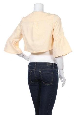 Γυναικεία ζακέτα Molly Bracken, Μέγεθος S, Χρώμα Κίτρινο, Πολυεστέρας, Τιμή 6,88€