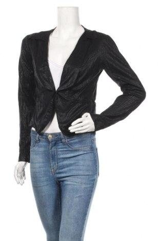 Дамско сако Object, Размер M, Цвят Черен, Памук, Цена 3,00лв.