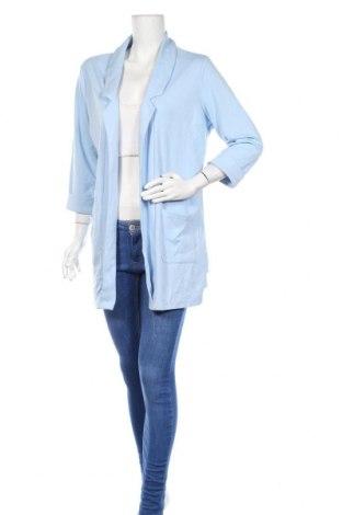 Γυναικεία ζακέτα Up 2 Fashion, Μέγεθος XL, Χρώμα Μπλέ, 67% πολυεστέρας, 30% βισκόζη, 3% ελαστάνη, Τιμή 20,78€