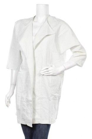 Дамска жилетка Yaya, Размер S, Цвят Сив, 52% лен, 48% памук, Цена 39,00лв.