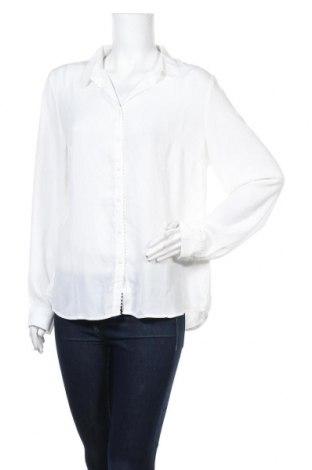 Γυναικείο πουκάμισο Camaieu, Μέγεθος XL, Χρώμα Λευκό, Βαμβάκι, Τιμή 12,12€