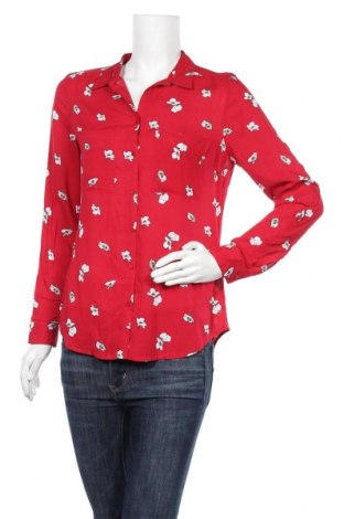 Γυναικείο πουκάμισο Camaieu, Μέγεθος S, Χρώμα Κόκκινο, Βισκόζη, Τιμή 15,30€