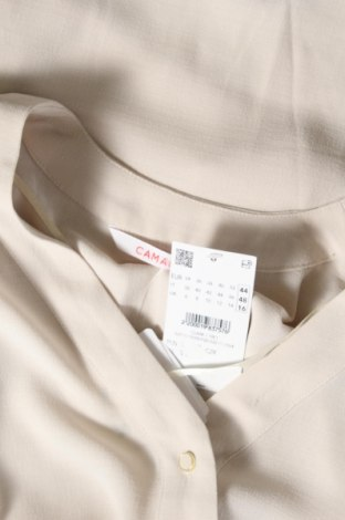 Дамска риза Camaieu, Размер XL, Цвят Бежов, Полиестер, Цена 12,88лв.