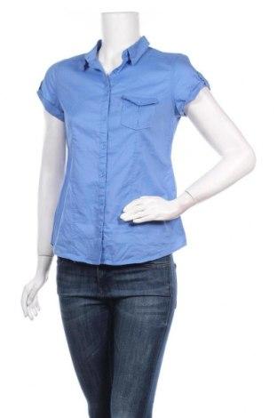 Дамска риза Camaieu, Размер S, Цвят Син, Памук, Цена 28,60лв.