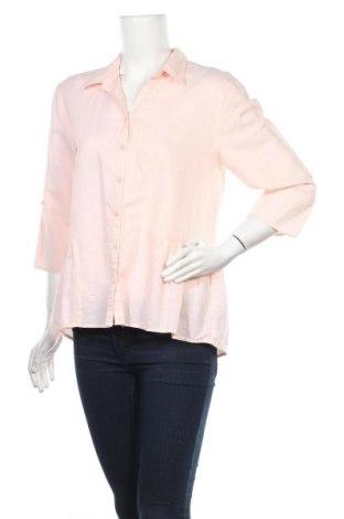 Дамска риза Canda, Размер M, Цвят Розов, 61% лен, 39% памук, Цена 25,00лв.