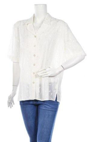 Дамска риза Gerry Weber, Размер XL, Цвят Бял, 100% полиестер, Цена 28,00лв.