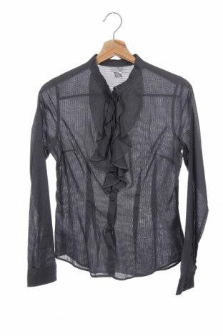 Дамска риза H&M, Размер S, Цвят Сив, Памук, Цена 4,46лв.