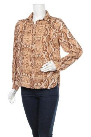 Дамска риза H&M, Размер S, Цвят Оранжев, 100% полиестер, Цена 7,59лв.