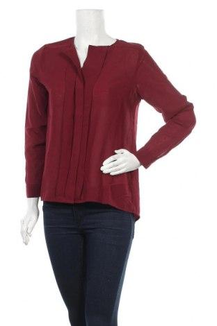 Дамска риза H&M, Размер M, Цвят Червен, Полиестер, Цена 13,25лв.