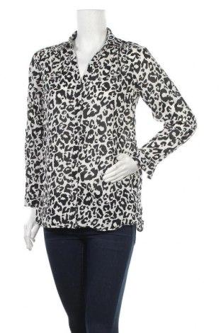Дамска риза H&M Divided, Размер XS, Цвят Бял, Памук, Цена 12,19лв.
