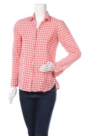 Дамска риза J.Crew, Размер S, Цвят Червен, 99% памук, 1% еластан, Цена 11,81лв.