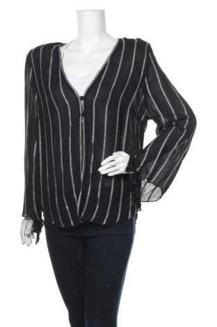Дамска риза Kirsten Krog, Размер XL, Цвят Черен, 97% вискоза, 3% метални нишки, Цена 111,72лв.