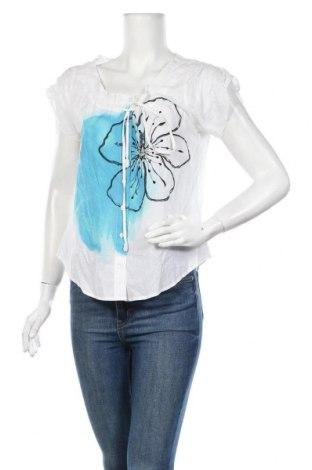 Дамска риза La Mode Est A Vous, Размер M, Цвят Бял, Памук, Цена 29,90лв.