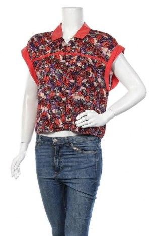 Дамска риза La Mode Est A Vous, Размер M, Цвят Многоцветен, Вискоза, Цена 29,90лв.