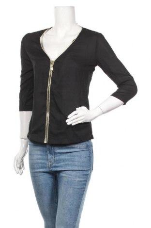 Γυναικείο πουκάμισο La Petite Parisienne, Μέγεθος S, Χρώμα Μαύρο, Πολυεστέρας, Τιμή 8,25€