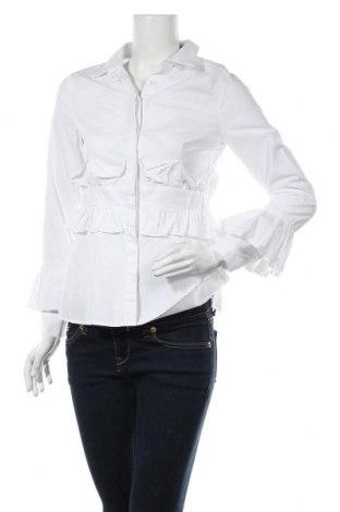 Дамска риза Lost Ink, Размер S, Цвят Бял, Памук, Цена 18,74лв.