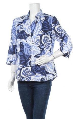 Дамска риза Marco Pecci, Размер M, Цвят Многоцветен, Лен, Цена 29,67лв.