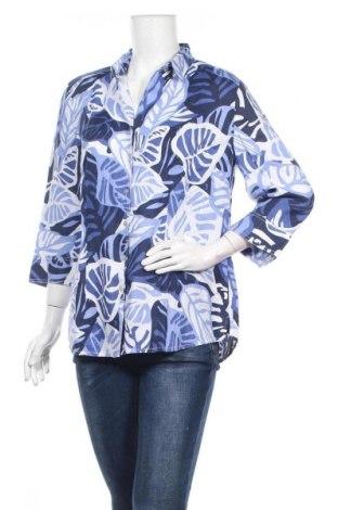 Дамска риза Marco Pecci, Размер L, Цвят Многоцветен, Лен, Цена 37,70лв.