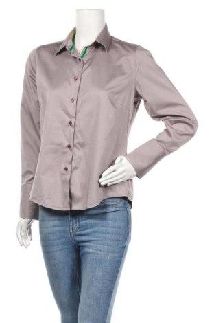 Γυναικείο πουκάμισο Milano Italy, Μέγεθος L, Χρώμα  Μπέζ, Τιμή 3,31€