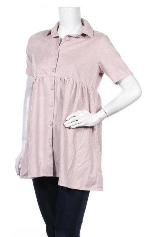Дамска риза Missguided, Размер S, Цвят Розов, Цена 18,92лв.
