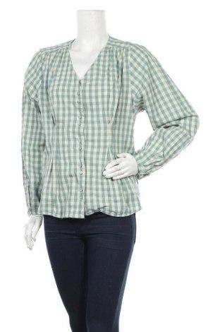 Дамска риза Noa Noa, Размер L, Цвят Зелен, Памук, Цена 14,62лв.