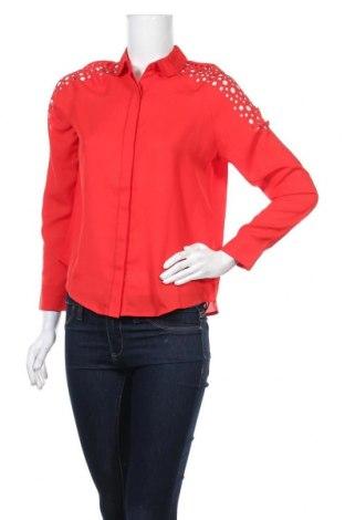 Дамска риза On.You, Размер XS, Цвят Червен, Полиестер, Цена 66,75лв.