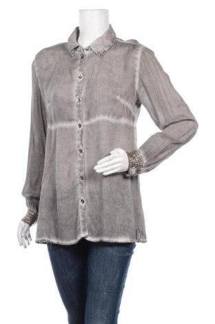 Γυναικείο πουκάμισο Timezone, Μέγεθος M, Χρώμα Γκρί, Τιμή 6,43€
