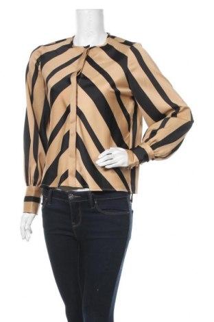 Дамска риза Vero Moda, Размер S, Цвят Кафяв, Полиестер, Цена 16,20лв.