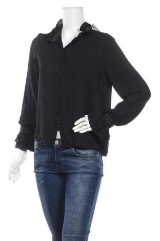 Дамска риза Vero Moda, Размер S, Цвят Черен, Полиестер, Цена 13,50лв.