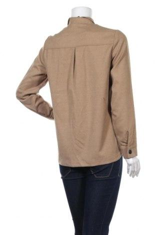Дамска риза Vero Moda, Размер S, Цвят Бежов, 64% полиестер, 34% вискоза, 2% еластан, Цена 13,50лв.