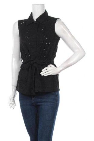 Дамска риза Vero Moda, Размер M, Цвят Черен, Цена 16,00лв.