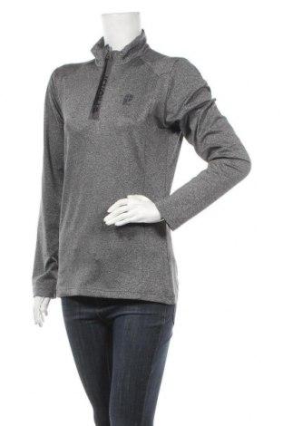 Γυναικεία αθλητική μπλούζα Protest, Μέγεθος M, Χρώμα Γκρί, 92% πολυεστέρας, 8% ελαστάνη, Τιμή 10,23€